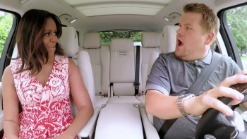 Carpool Karaoke  … Michelle channels Beyonce